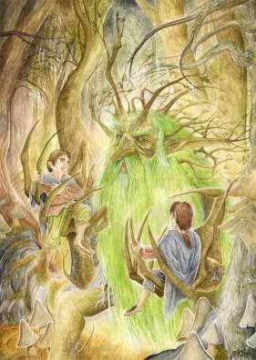 Per_Sjögren_-_Treebeard_and_the_hobbits