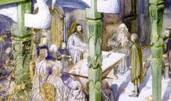 Artwork inspired by Tolkien - Page 28 Sda-alan-lee-the-council-of-elrond_orig